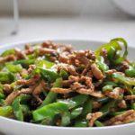 【日本美食】青椒肉絲(チンジャオロース)/Green pepper steak/青椒肉丝【非中華中華料理】