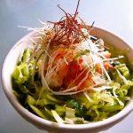 【日式菜谱】えびとシャキシャキ野菜のヘルシーサラダ丼【東京発!バイリンガルヘルシークッキング