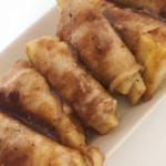 【日式菜谱】春筍と豚バラ肉しそ巻き【東京発!バイリンガルヘルシークッキング】