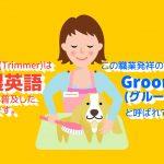 【日本职业】 トリマー/Pet Groomer/宠物美容师 【Japanese Occupations】