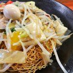 【日本美食】皿うどん(サラウドン)/Saraudon/皿乌冬【非中華中華料理】