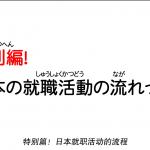 【日语面试检定】介绍日本就职活动的流程!前篇
