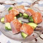 【日式食谱】秋鮭とアボカドのサラダ/秋季三文鱼和牛油果的色拉【東京発!バイリンガルヘルシークッキング】